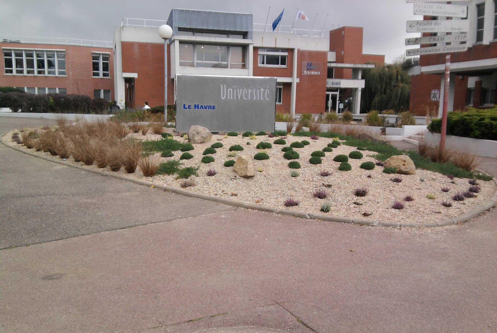 Anoblir l 39 entr e l 39 universit soci t normande du paysage - Residence les jardins de l universite ...