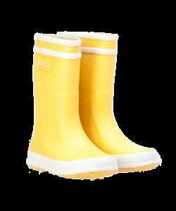 Bottes en caoutchouc jaune