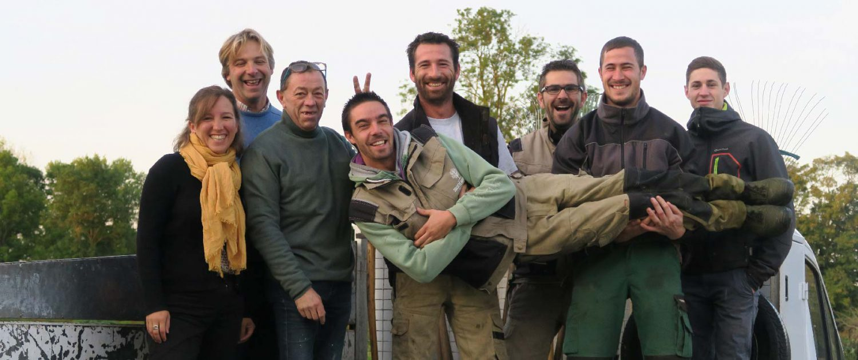 La société normande du paysage a une équipe joyeuse